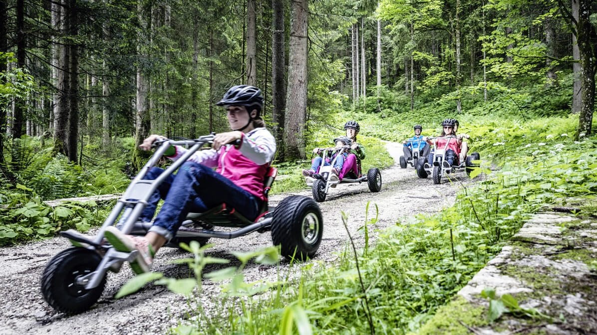 Mountaincarts am Wildkogel, Foto: Wildkogel-Arena Neukirchen & Bramberg