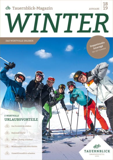 Magazin Winter 18-19 – Hotel Tauernblick in Bramberg