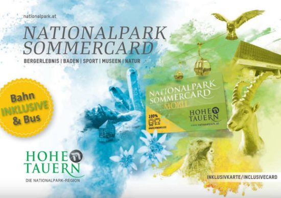 Nationalpark Sommercard Mobile